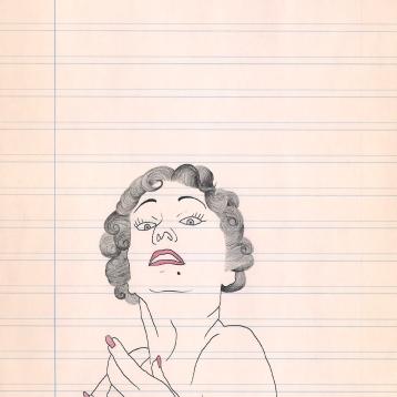 8. GLORIA SWANSON (NORMA DESMOND)